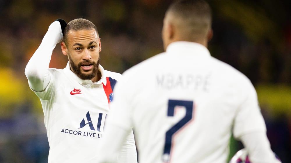 Neymar und Kylian Mbappé sind Spieler von Paris Saint-Germain.