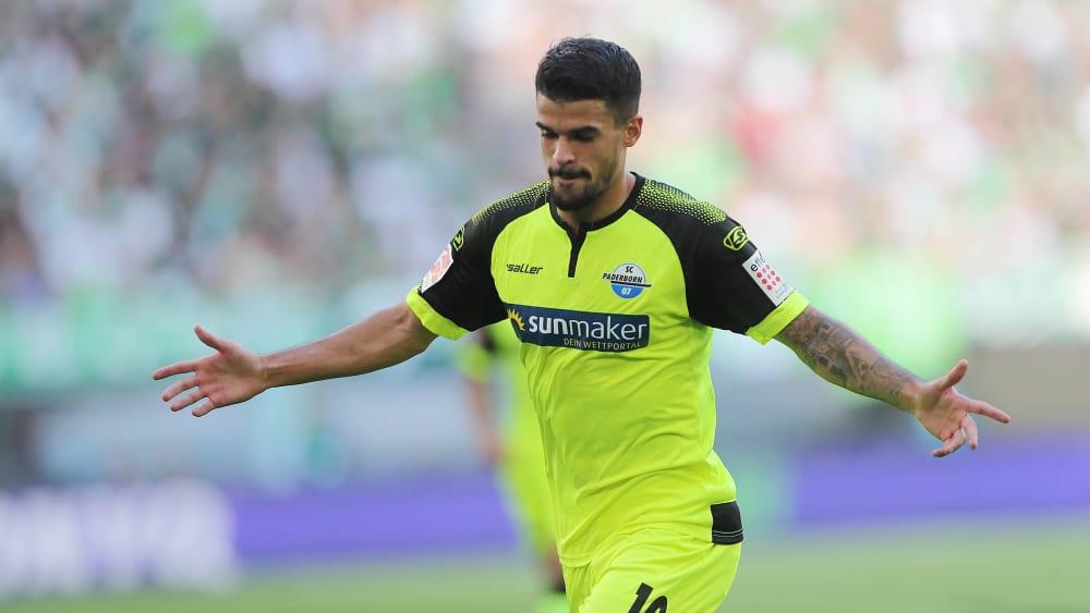 Traf zur Führung: Paderborns Cauly Oliveira Souza.