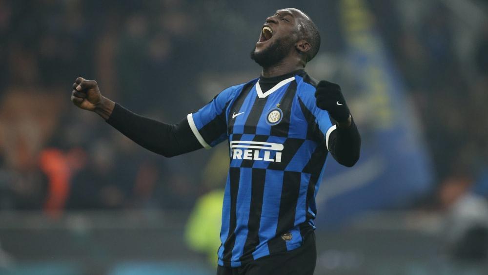 Romelu Lukaku ist Spieler von Inter Mailand.