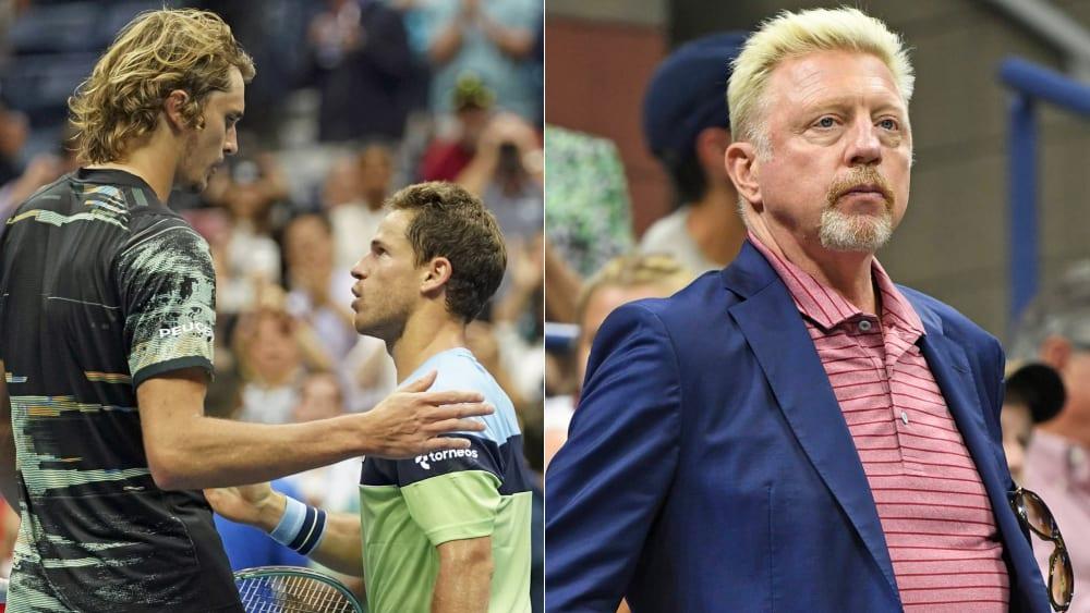 Diego Schwartzman war eine Nummer zu groß für Alex Zverev - Boris Becker fällte ein hartes Urteil über die deutsche Nummer eins.