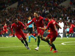Dreierpack: Cristiano Ronaldo nicht zu stoppen