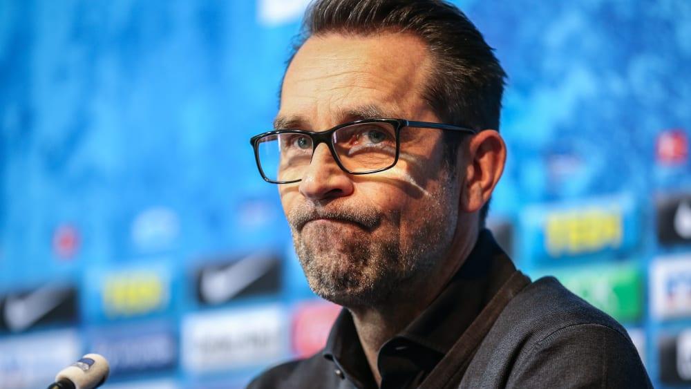 Hätte die Lizenzdebatte gerne bis zum Sonntag geklärt: Herthas Geschäftsführer Sport, Michael Preetz.