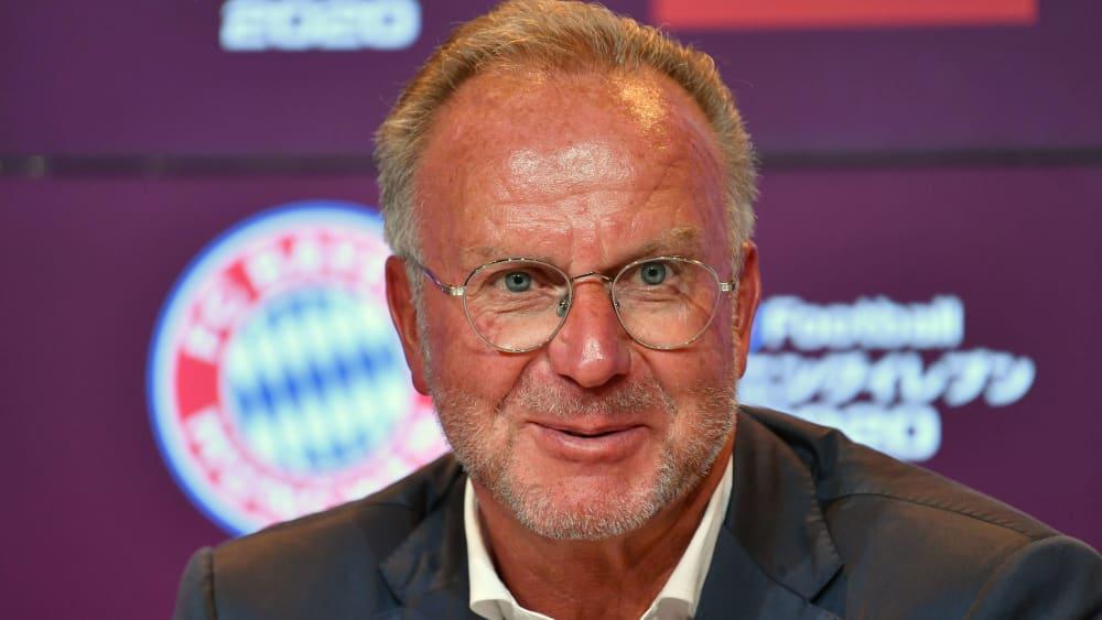 Vorstands-Boss Karl-Heinz Rummenigge