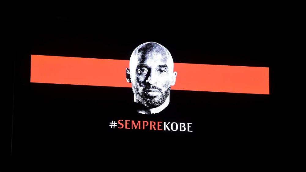 Die AC Mailand hat vor dem Pokalspiel an Kobe Bryant erinnert.